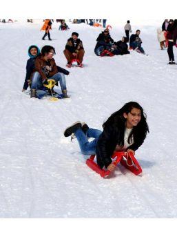 Salda Kayak Merkezi'nde Renkli Sezon Açılışı...