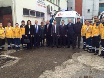 Çan'a 1 Yeni Ambulans