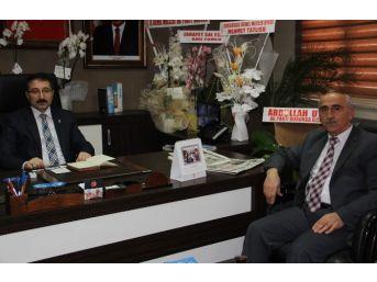 Başkan Yalçın'dan Bekiroğlu'na Kutlama Ziyareti