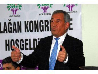 Hdp'li Demir Çelik: Seçim Barajı Üzerinden Istikrar Sağlanma...