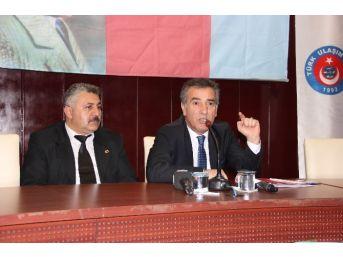 Türk Ulaşım Sen Genel Başkanı Şerafettin Deniz: