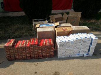 Jandarma 7 Bin Paket Kaçak Sigara Ele Geçirdi