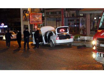 Deposundan Lpg Sızan Otomobil Paniğe Yol Açtı...