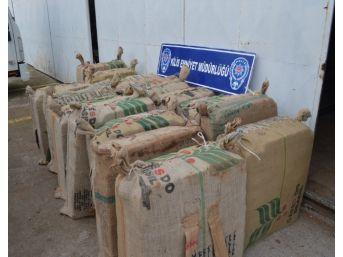 Kilis'te 20 Bin Paket Kaçak Sigara Ele Geçirildi
