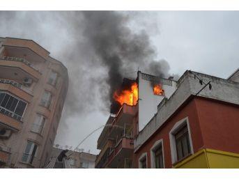 Kilis'te Yangın Paniğe Neden Oldu