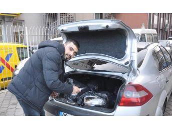 Kırıkkale'de Otomobilde 40 Kilo Esrar Ele Geçirildi