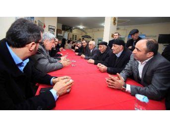 Karaosmanoğlu, Marmara Bitlisliler Derneği'ni Ziyaret Etti