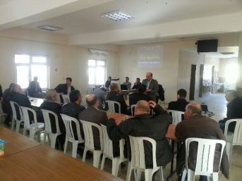 Hisarcık'ta Taşımalı Eğitim Servis Şoförlerine Eğitim Verildi