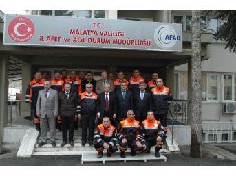 Malatya Afad'a Yeni Kurtarma Aracı Geldi