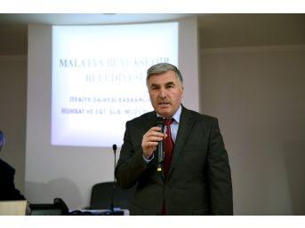 """Malatya'da """"binaların Yangından Korunması Yönetmenliği"""" Toplantısı"""