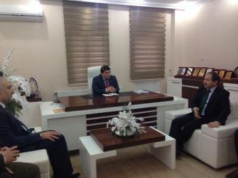 Milletvekili Öz Ve İl Başkanı Kahtalı'dan Müsiad'a Hayırlı Olsun Ziyareti