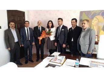 Müsiad Mardin Şubesi'nden Büyükşehir Belediyesi'ne Ziyaret