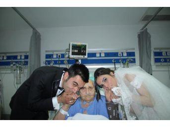 Gelinle Damattan Hastanede Yatan Babaanneye Sürpriz Ziyaret...
