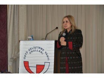 Odtü Geliştirme Vakfı Okulları Seminerine 7 İlden 200 Eğitimci Katıldı