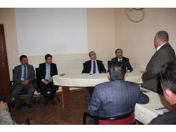 Gülşehir'de Çiftçi Sorunları Değerlendirme Toplantısı Yapıldı