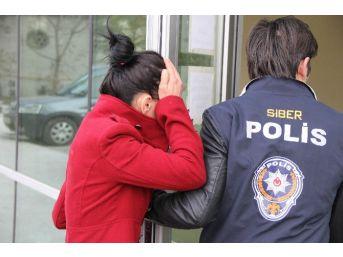 Kredi Kartı Dolandırıcılığı Şüphelisi Genç Kadın Serbest