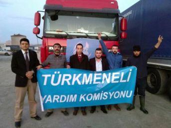 Samsun'dan Suriye'ye Yardım Konvoyu