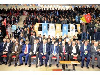 Bakan Şimşek'ten Ak Parti'nin Siirt Kongresi'nde Kürtçe Selama Konuşması