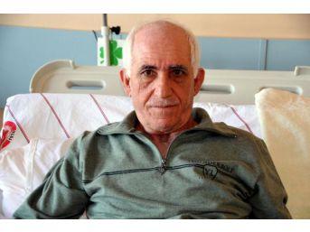 Ayakları Donan Köy Korucusu Hastanede Tedaviye Alındı
