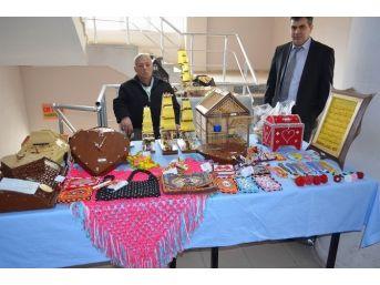 Gürün'de Cezaevi Mahkumları Sergi Açtı
