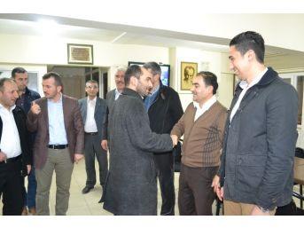 Saadet Partisi'nden Ak Parti'ye 'hayırlı Olsun' Ziyareti