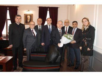 Başkan Altunbaş'tan Ortahisar Kaymakamı'na
