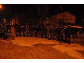 Tunceli'de Kobani Kutlaması