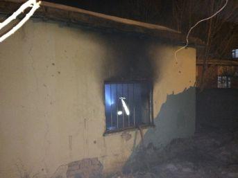 Van'da Boş Evde Yangın