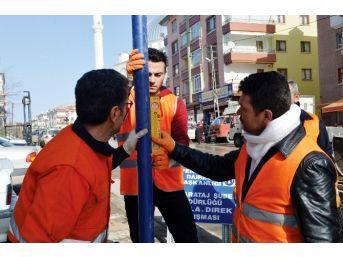 Büyükşehir Cadde Ve Sokakları Ayrıntılı Tabelalarla Donatıyor