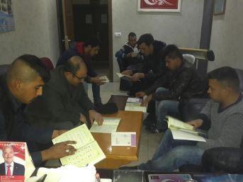 Mut Ülkü Ocakları Gençlere Kuran-ı Kerim Öğretiyor