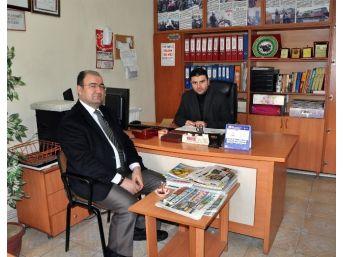 Sorgun İlçe Emniyet Müdürü Hasan Arslan Veda Ziyaretinde Bulundu