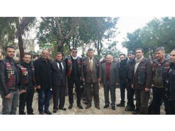 Türk Chopper Üyesi Faruk Ülker Ceyhan'da Anıldı