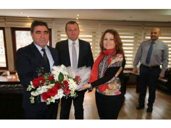 Ak Parti Merkez İlçe Yönetiminden Başkan Özdemir'e Ziyaret