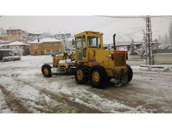 Kırıkkale'de Kar Yağışı