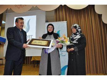 Seydişehir'de 'ailede Sevgi' Konferansı