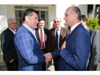 Chp Genel Başkan Yardımcısı Bingöl'den Başkan Kocadon'a Ziyaret