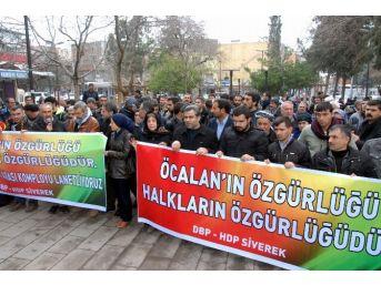 Siverek'te 15 Şubat Yürüyüşü