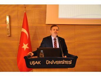 Uşak Üniversitesi Rektörü Çelik'ten Çelik Gibi Açıklama