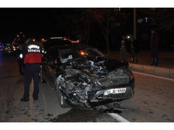 Sorgun'da Trafik Kazası: 5 Yaralı