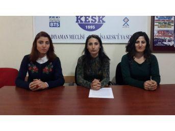 Kesk Kadın Meclisi 'isyan'da