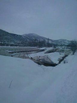 Amasya'da Kar Seraları Vurdu