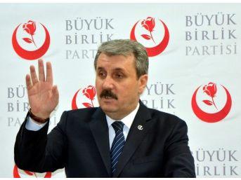 """Bbp Genel Başkanı Destici: """"özgecan'a Yapılanlar İdamdan Daha Mı Hafif"""""""