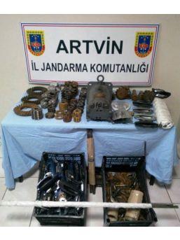 Artvin'de Kaçakçılara Operasyon