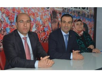 Ak Parti Milletvekili Aday Adayı Süphanoğlu'na Görkemli Karşılama