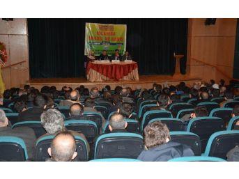 """Tatvan'da """"islam'da Anadil Ve Barış"""" Paneli Düzenlendi"""
