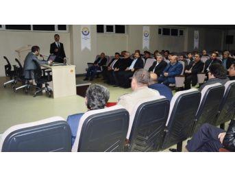 """Tatvan'da """"kobi Proje Destek Programı"""" Bilgilendirme Toplantısı"""