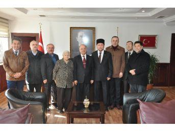Kırım Türkleri Yardımlaşma Derneği'nden Vali Kolat'a Ziyaret