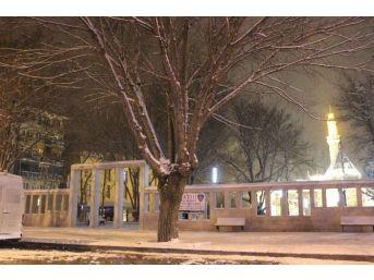 Kırşehir'de Kar Yağışı Ve Tipi
