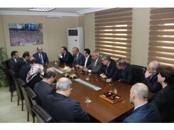 Başkan Toltar'dan, İl Başkanı Ceyhan'a Hayırlı Olsun Ziyareti
