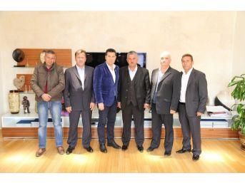 Bbp Bodrum İlçe Başkanı Kıroğlu'ndan Başkan Kocadon'a Ziyaret